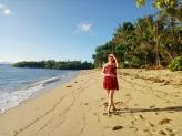 Golden Brown Sand in Nilandingan