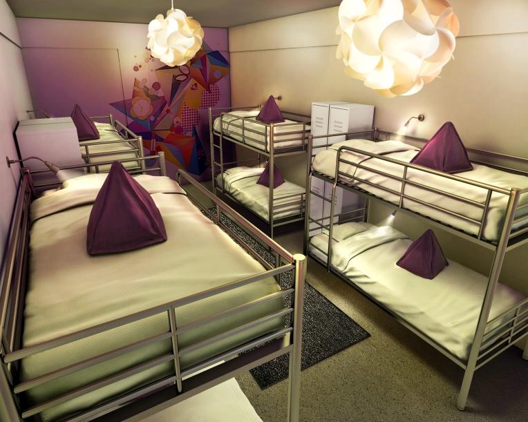 Sample / 8 BED Dorm Room