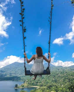 Bali Swing over wanagiri
