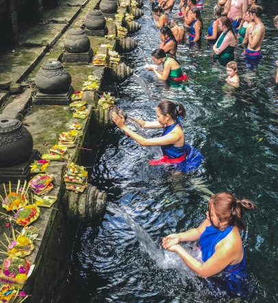 Holy Spring Water Activity
